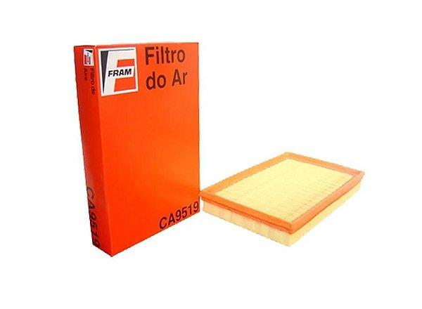 FILTRO DE AR DO MOTOR FIAT PALIO FIRE 2004/... 1.0/1.3/1.4 FLEX 8V - MARCA FRAM