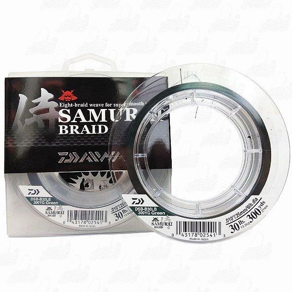 Linha Daiwa Samurai Braid 300YDS