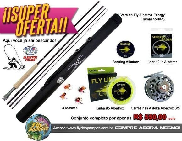 Kit completo de Fly para iniciantes N.° 8