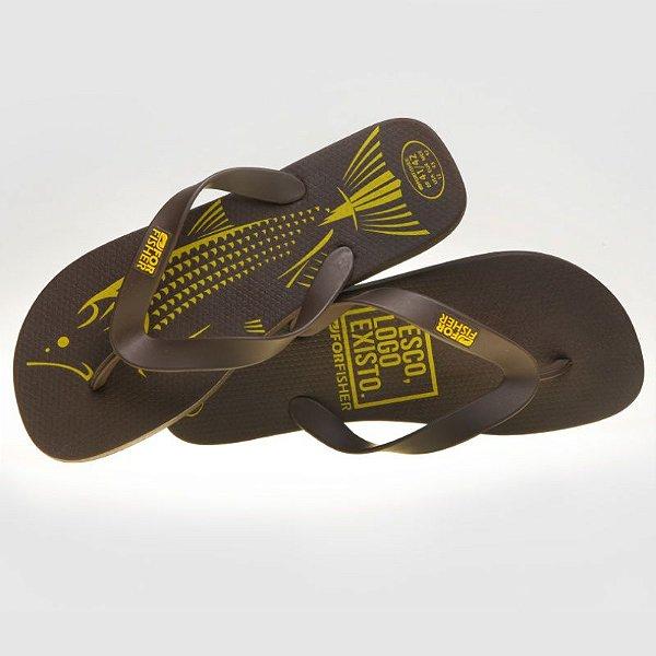Sandália Dourado Tribal