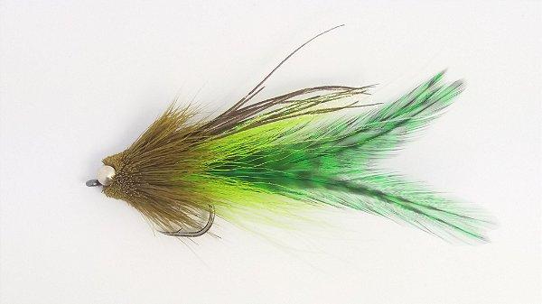 Dourado Muddler Grande Verde Oliva