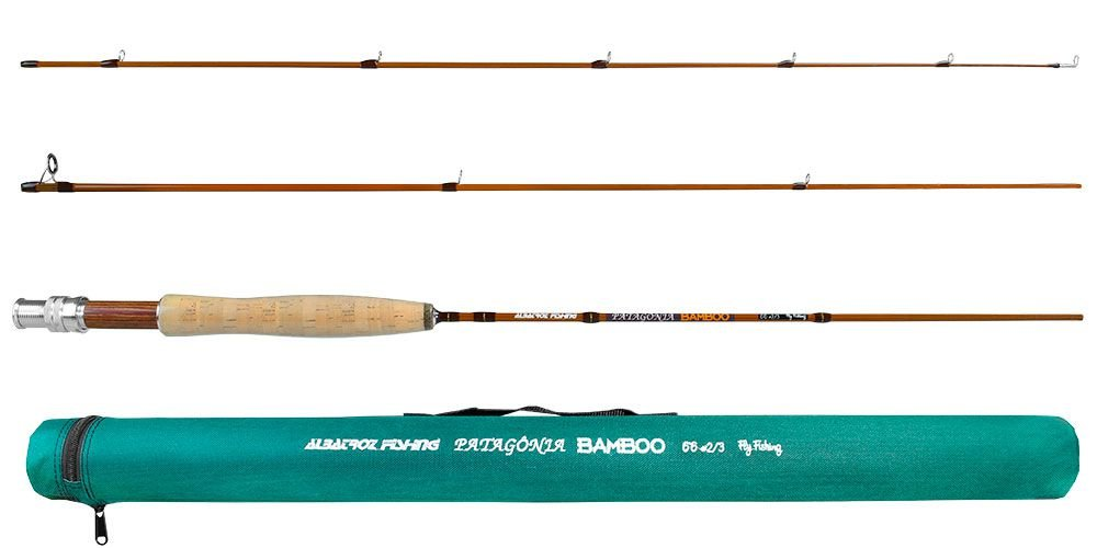 Vara Patagônia Bambo  6'6 #2/3   3 partes