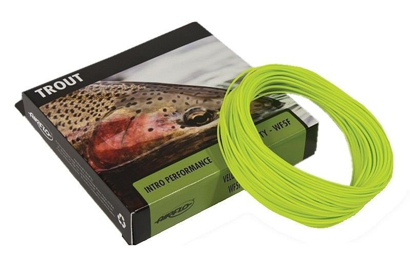 LINHA DE FLY VELOCITY WF-4-5-6-7-8- 9F OPITIC GREEN 82ft/27yds/25m