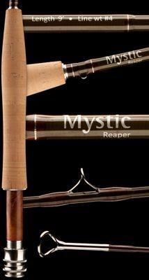 Vara Mystic Reaper 9', 4 partes, rápida, Tam. #4#5#6#7#8#10