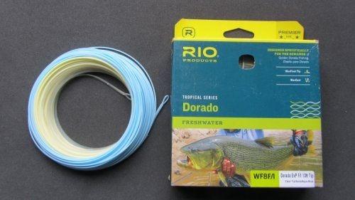 Linha Rio Dorado Tropical Series Freshwater ExP -F/I 10ft Tip Clear Tip/Sand/Aqua Blue