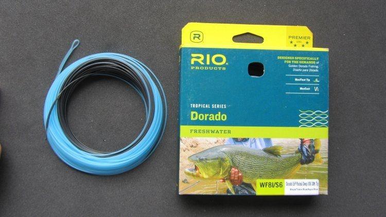 Linha Rio Dorado ExP - Paraná Deep I/S6 30ft Tip  WF8I/S6  Black / Trans blue/aqua blue