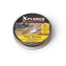 Tippet, Ultra Strong - tamanhos 1x, 2x, 3x, 4x, 5x, 6x