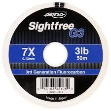 Airflo SIGHTFREE G3 - Tippet de Fluorocarbono
