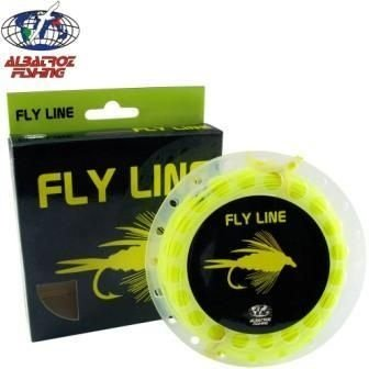 Linha de Fly Albatoz -Fly Line Floating fl. Yellow