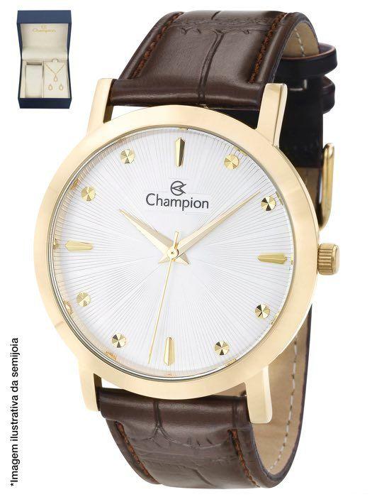 Kit Relógio Champion CN20622W Feminino