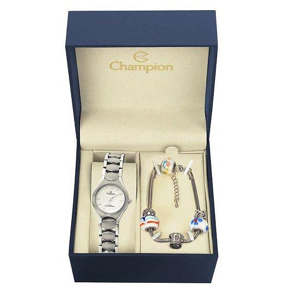 Kit Relógio Champion Feminino - CA28181Y