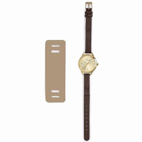 Kit Relógio Condor Feminino - COAL2035EI/KM