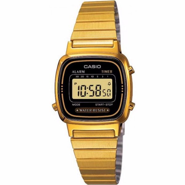 Relógio Casio Vintage Feminino - LA670WGA-1DF