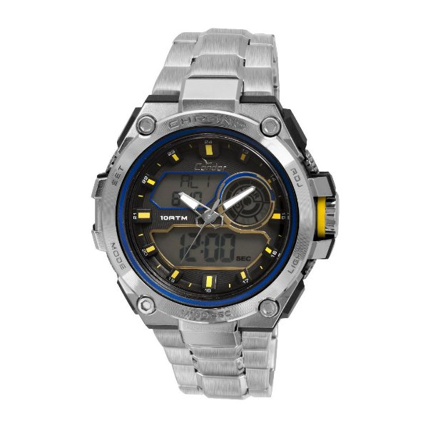 Relógio Condor Esportivo Anadigi Masculino - CO1161A/3A