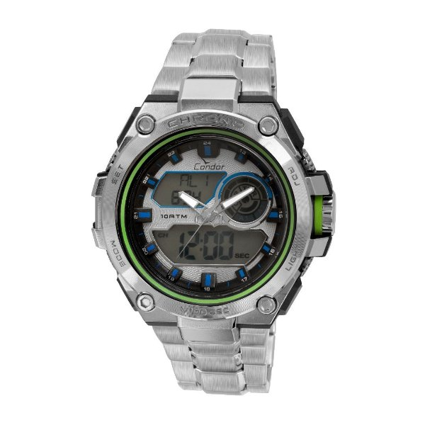 Relógio Condor Esportivo Anadigi Masculino - CO1161A/3k