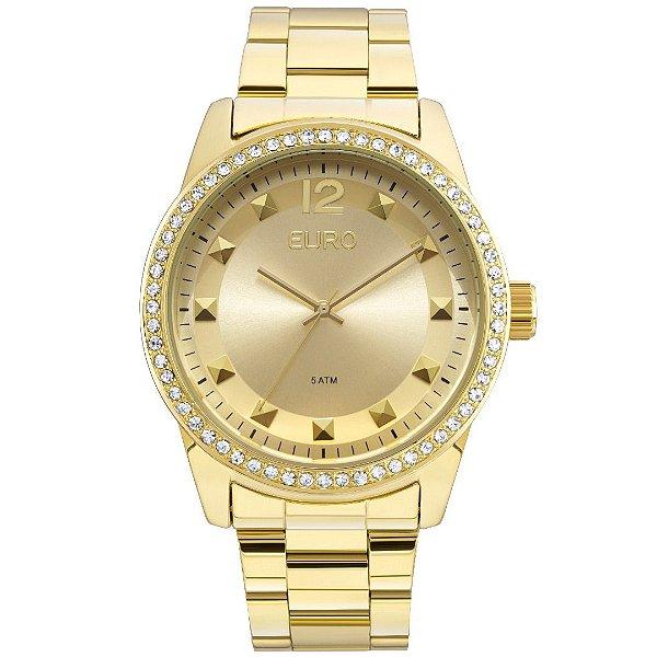 Relógio Euro Premium Metal Glam Feminino - EU2035YLA/4D