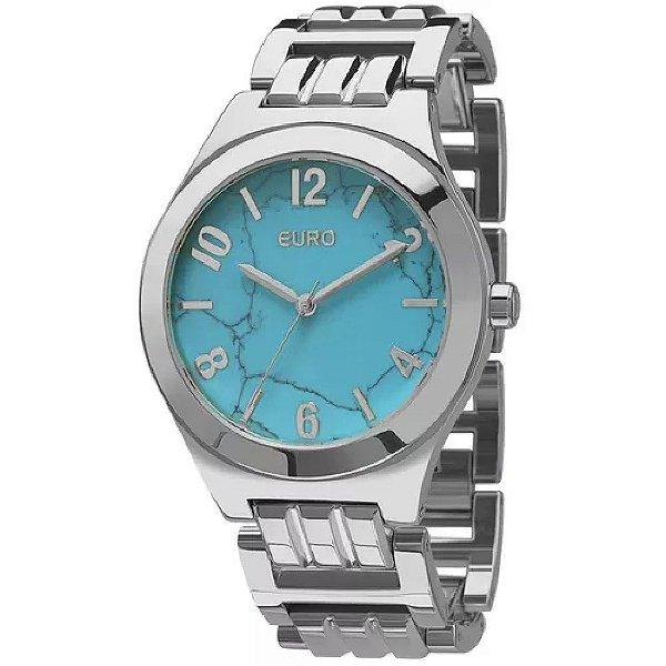 Relógio Euro Turquesa Feminino - EU2033AH/3A