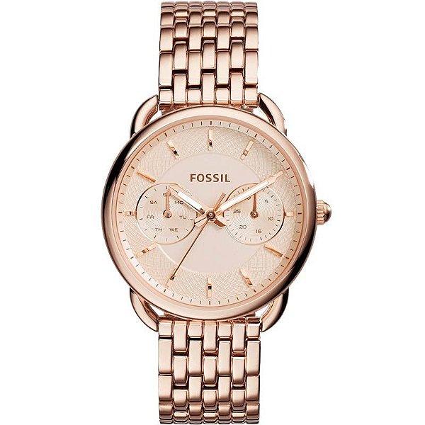 Relógio Fossil Ladies Tailor Rosé ES3713/1JN Feminino