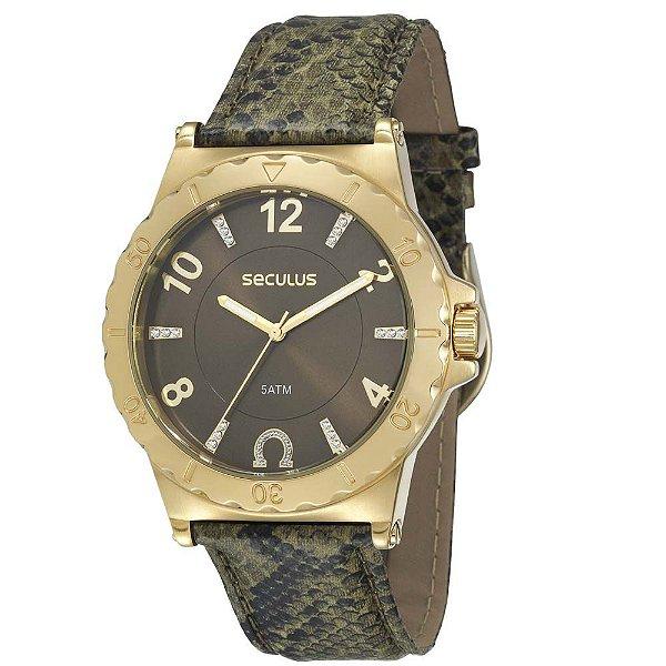 Relógio Seculus 20124LPSCDR3 Feminino