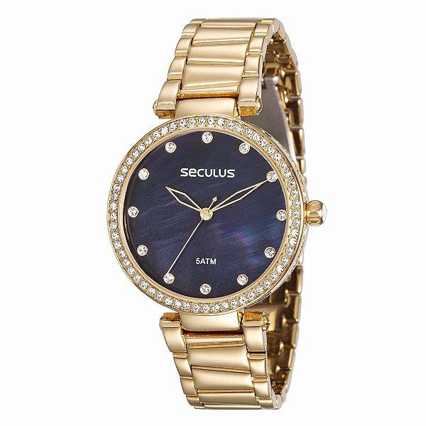Relógio Seculus Long Life Feminino - 20379LPSVDS2