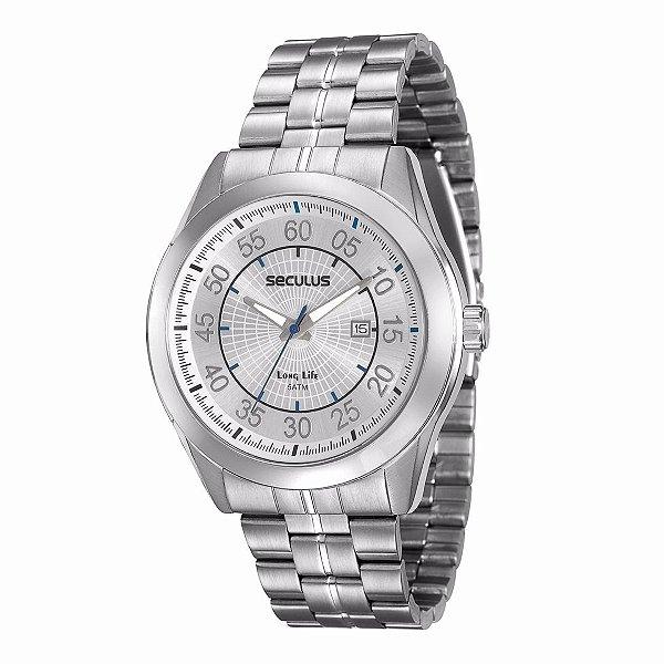 Relógio Seculus Long Life 20337G0SVNA2 Masculino