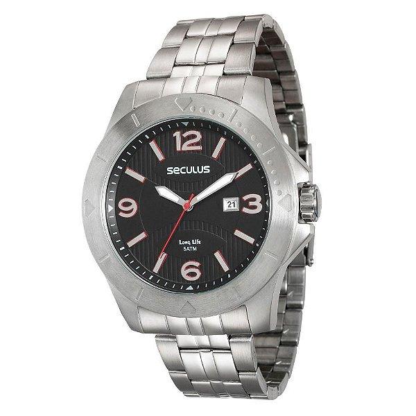 Relógio Seculus Long Life Masculino - 20361G0SVNA1