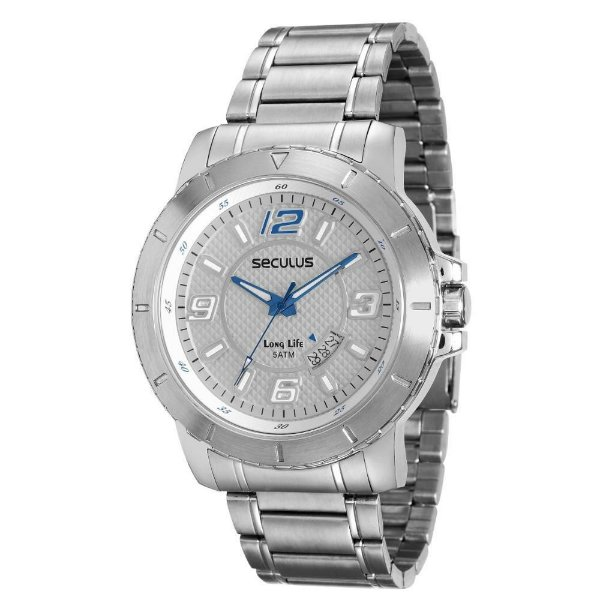 Relógio Seculus Long Life 20385G0SVNA2 Masculino