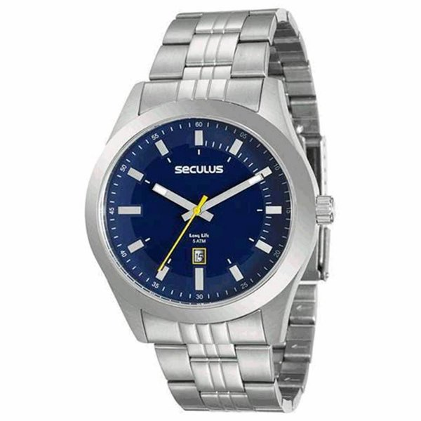 Relógio Seculus Long Life 20408G0SVNA4 Masculino