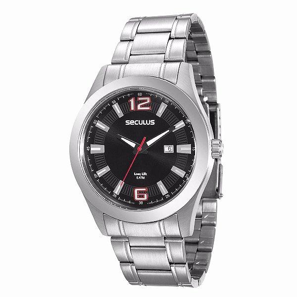 Relógio Seculus Long Life Masculino - 20409G0SVNA2