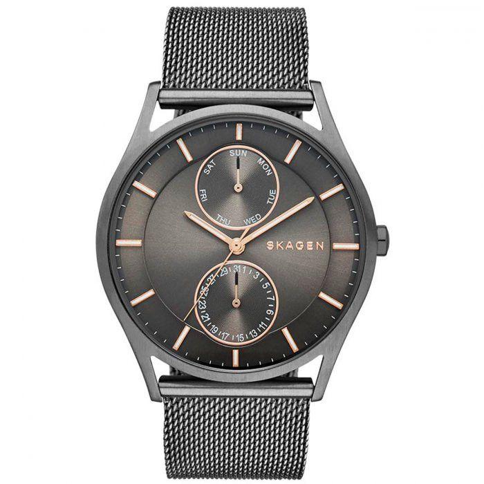 Relógio Skagen Holst Steel-Mesh Masculino - SKW6180/1PN