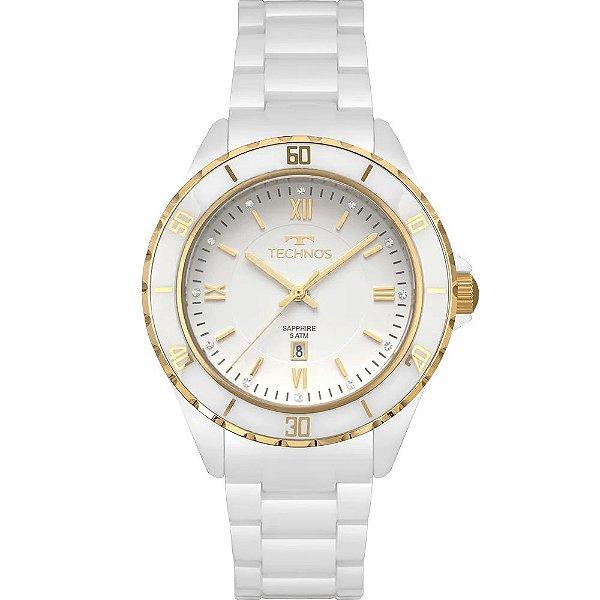 Relógio Technos Ceramic 2015CAP/4B Feminino