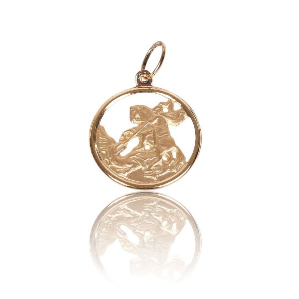 Pingente Medalhão - Ouro 18K