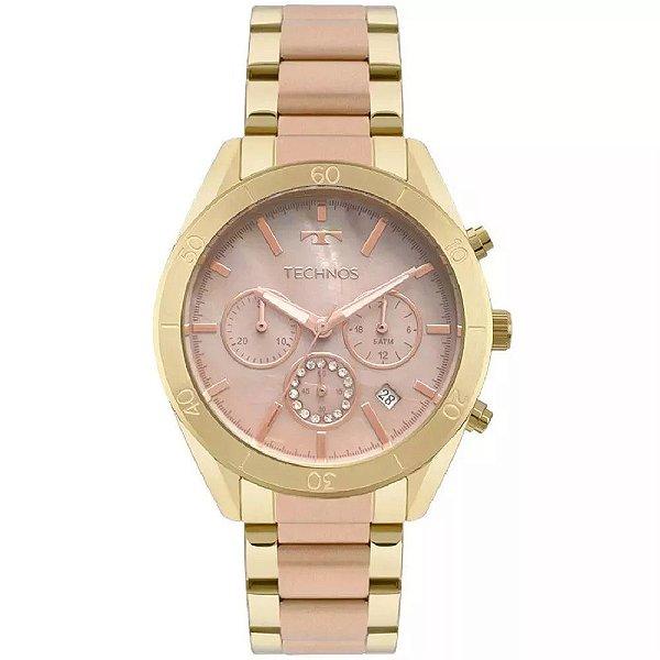 Relógio Technos Elegance Ladies Cronógrafo - JS25BW/5M