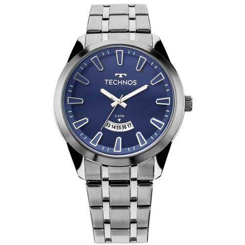 Relógio Technos Masculino Prata - 2115KZB/1A