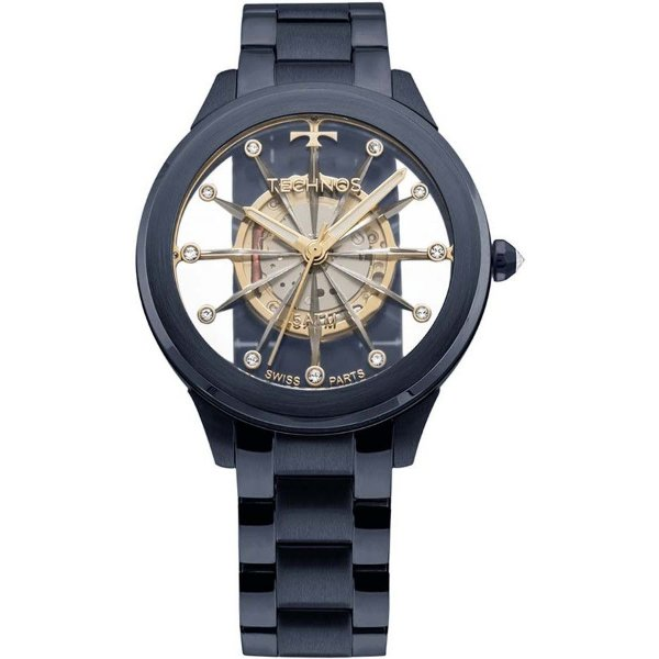Relógio Technos Feminino Cristal Azul - F03101AD/4W