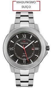 Relógio Technos Masculino Maquinismo Suíço - F06111AB/1P