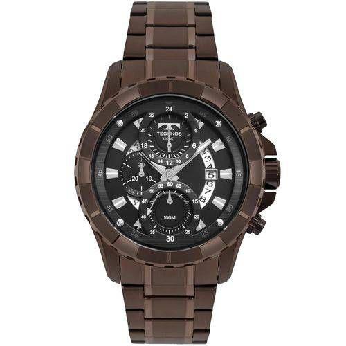 Relógio Masculino Technos Marrom - JS15FN/4P