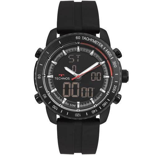 Relógio Technos Ts Anadig Masculino Preto - W23745AB/8P