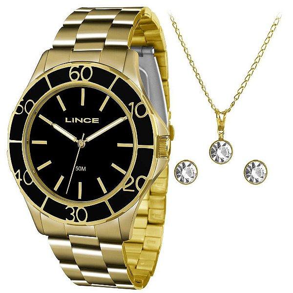 Kit Relógio Lince Feminino - LRGJ067L KU96P1KX