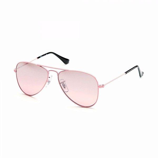 Óculos de Sol Ray-Ban Feminino Aviador Junior - RJ9506S 211/7E