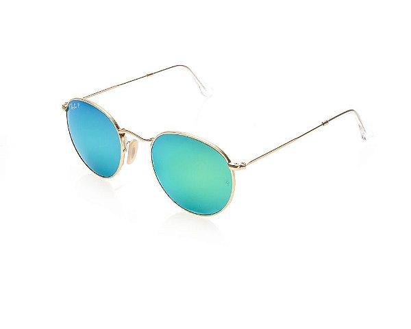 Óculos de Sol Ray-Ban - Unissex Round Metal Cl·ssico RB3447 112/4L