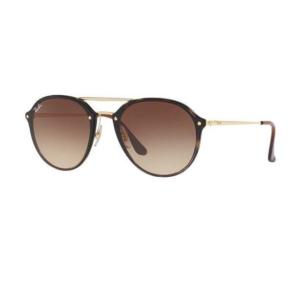 Óculos de Sol Ray-Ban Feminino Blaze Double Bridge - RB4292N 710/13