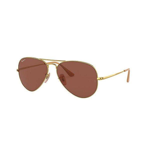 Óculos de Sol Ray-Ban Unissex - RB3689 9064AF 58
