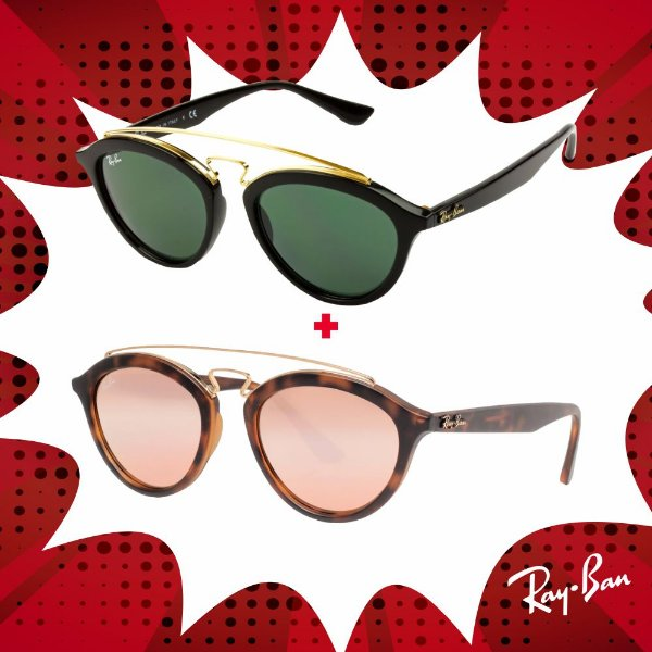 Kit Óculos de Sol Ray-Ban - RB4257 601/7153 e RB4257 60922Y53