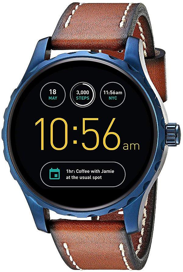 Relógio Smartwatch Fossil Q Marshal FTW2106/Omi Masculino