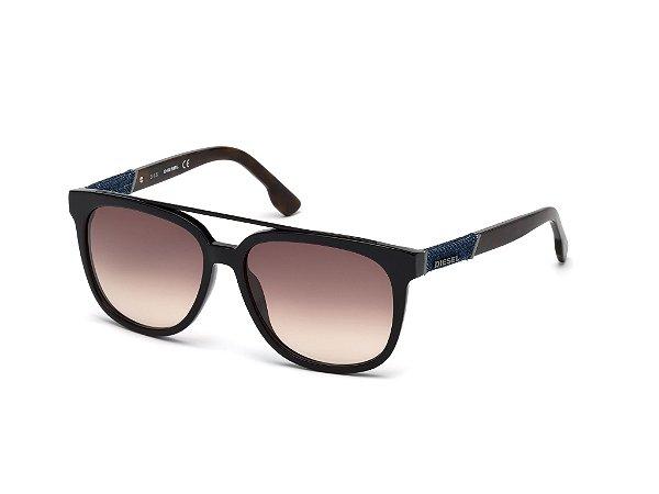 Óculos de Sol Diesel Masculino - DL0166 56 01F