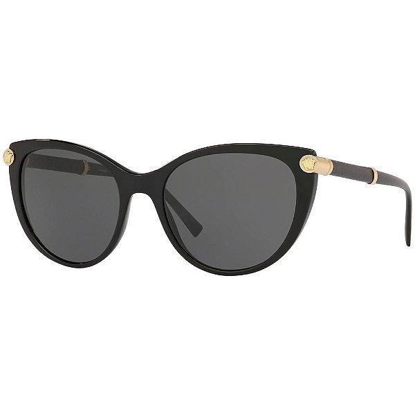 Óculos de Sol Feminino Versace - VE4364Q GB1/87 55