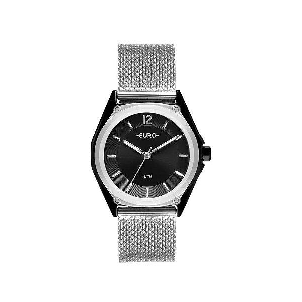 Relógio Euro Feminino Color Mix Geometric Bicolor - EU2035YPK/5P