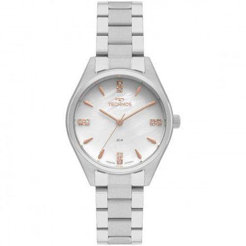 RelógioTechnos Feminino Prata 2036MKR/1B