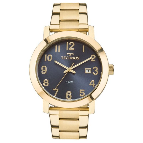 Relógio Technos Feminino Dourado 2115MND/4A